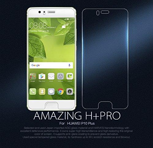 Nillkin Amazing H + Pro–0,22mm con borde curvado 2.5d 9h protector de pantalla de cristal templado para Huawei P10Plus