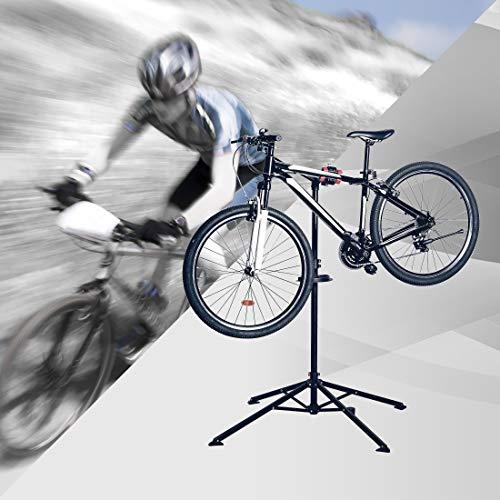 Ultrasport Caballete Expert de reparación para bicicleta como las de montaña, eléctricas, estable, hasta 30