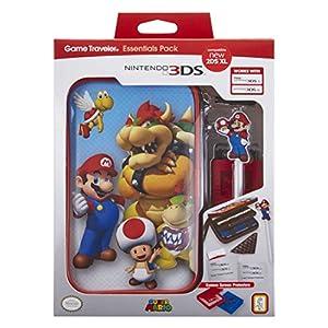BigBen Offizielles Nintendo New 2DS XL / 3DS XL / 3DS XL – Zubehör-Set Official Essential Mario Pack | 4 Motive zur Auswahl | Schützt New 2DS XL / 3DS und Spiele
