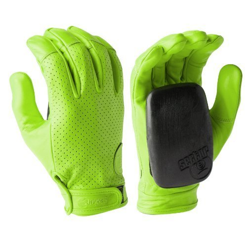 sector-9-driver-ii-green-2014-longboard-slide-gloves-with-slide-pucks-size-l-xl-by-sector-9