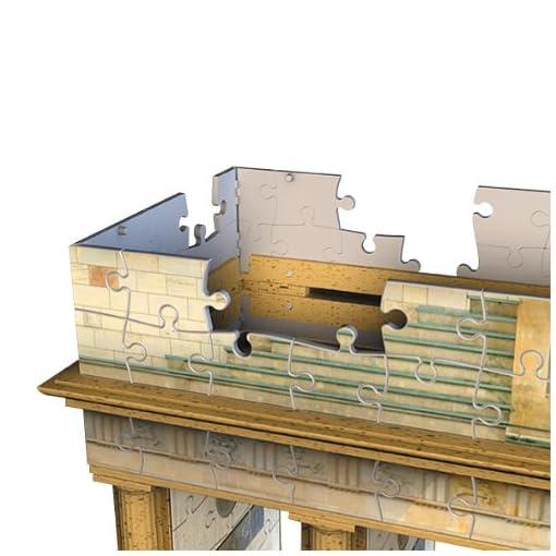 Ravensburger-12551-Brandenburger-Tor-Berlin-324-Teile-Puzzle-3D-Puzzle-Bauwerke