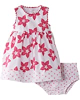 Pumpkin Patch Baby-Girls Hibiscus with Knickers Dress