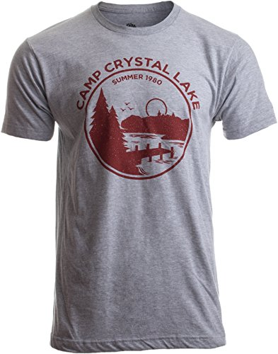 "Crystal Lake Counselor"" (""Betreuer im Ferienlager Crystal Lake 1980"") - lustiges Motiv für Horrorfilm-Fans-XL ()"