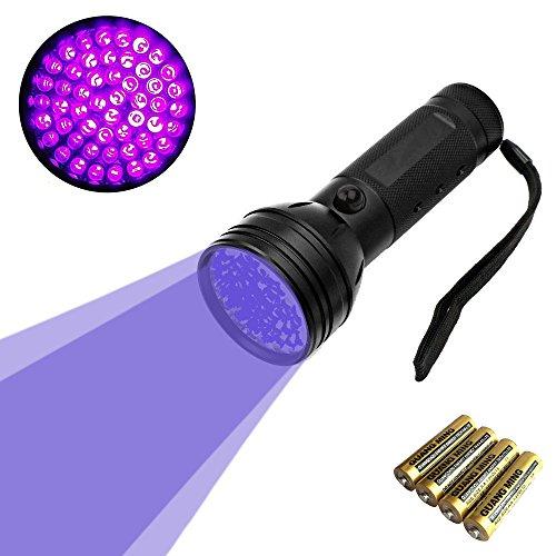 UV Lampara 51 LED linterna luz negra mascotas UV Detector