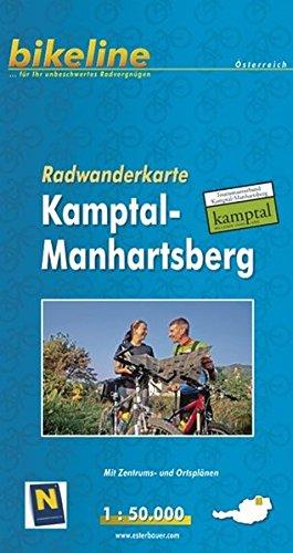 Kamptal / Manhartsberg Cycling Tour Map 2009 por Esterbauer