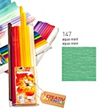 CREATIV DISCOUNT® NEU Premium Feinkrepppapier 32 g/qm, Aqua Mint