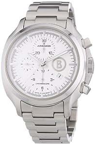 Junghans Herren-Armbanduhr XL Bogner Willy Chronoscope Chronograph Automatik Edelstahl 027/4265.44