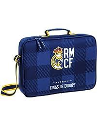 Safta Real Madrid Maletín, 38 cm, Azul