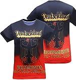Deutschland Herren Germany Jersey T-Shirts (Size:2XL)