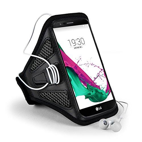 Premium Mesh outdoor Running Gym Sport Armband Fall für Samsung Galaxy S8Plus/Note 8/LG Stylus 3/LG G6/Q6/Motorola Moto G5S Plus/E4Plus/Z2Play/BLU Vivo 8/R2/wileyfox Swift 2x/Huawei P10Plus (Gold Blackberry Classic)
