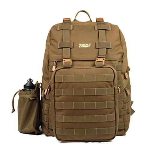 Sincere® Forfait / ventilateurs Sacs à dos / Armée Portable / Ultraléger le camping tactique / randonnée escalade en plein air paquet brun 40L