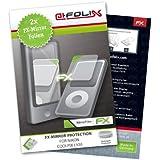 atFoliX FX-Mirror Film de protection d'écran pour Nikon Coolpix L120 Lot de 2