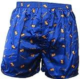 unbrand Sendung mit der Maus Boxershorts Herren Boxers Shorts Unterhosen Boxershorts, Farbe:3. Sleep/Blau;Größe:S