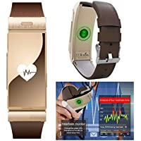 Indigi® sportivo Bluetooth Smart Watch rimovibile vivavoce auricolare design Built-in cardiofrequenzimetro contapassi