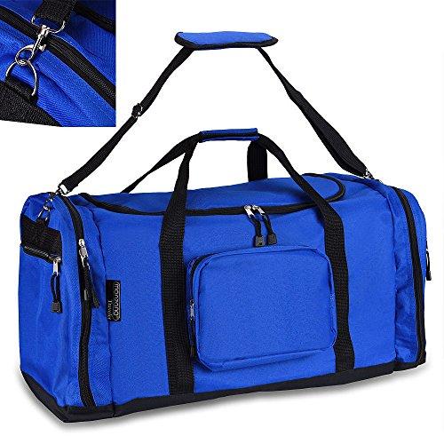 Borsone sportivo - 70 cm - capienza 95 litri - Borsone da viaggio Borsa Borsone Valigia Bagaglio Blue