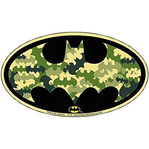 BATMAN CAMO BAT LOGO, Officially Licensed Original Artwork, 2.875