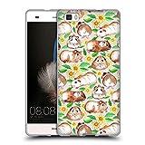 Offizielle Micklyn Le Feuvre Meerschweinchen Und Gänseblümchen Und Aquarell Muster 2 Soft Gel Hülle für Huawei P8lite / ALE-L21