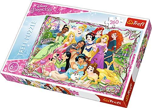 ollection Disney Princess Kinder Puzzle Puzzles Prinzessin treffen Bunt Motiv 260 Teile ab 6 Jahre Geschenk Idee für Mädchen Ostern Geburtstag Weihnachten Mitbringsel ()