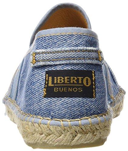 Liberto Mens Lib31cl Espadrillas Blue (lavato)