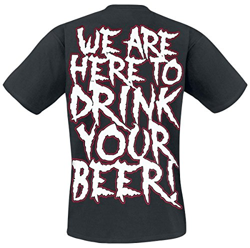 Are Here Shirt Your Schwarz We T Drink To Alestorm Beer schwarz 5Ewp4qA