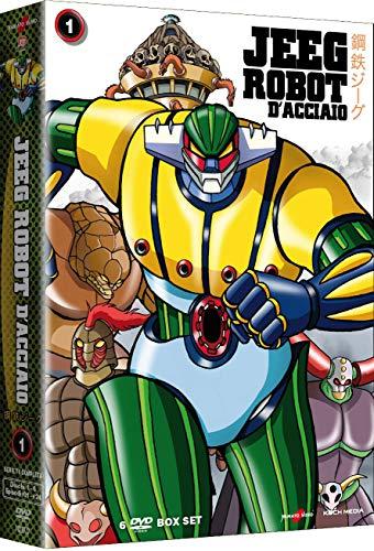 Jeeg Robot D'Acciaio V.1 (Box 6 Dv)