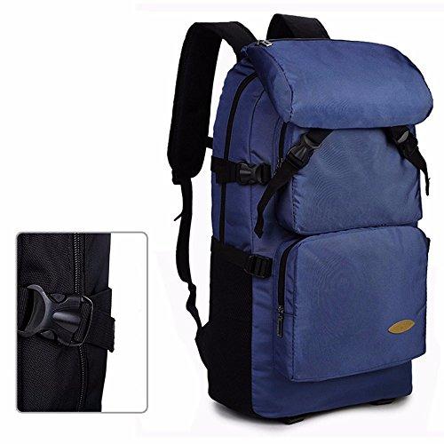 TBB-Reisetaschen große Kapazität Rucksack bergsteigen Tasche im Freien Blue Large