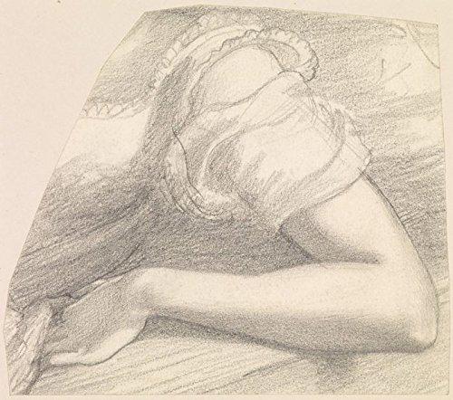 Das Museum Outlet–Weiblich–Studie des linken Arm und Schulter der Frau in Kostüm, 1878–82, gespannte Leinwand Galerie verpackt. 40,6x (Frau Kostüm Armee)