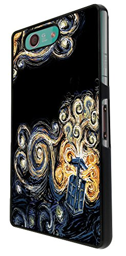 doctor who tardis - 452 van gogh canvas Design Sony Xperia Z3...