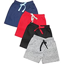 NammaBaby Tinchuk Shorts Nekar Set of 4 Solid Color for Your Little Cool Dude Pack of 4 Shorts