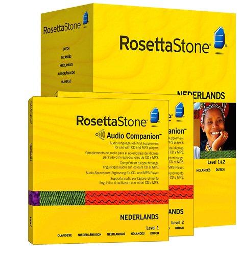 Rosetta Stone Version 3: Niederländisch Stufe 1&2 Set Persönliche Edition inkl. Audio Companion
