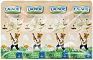 Lacnor Vanilla Milk - Pack of 8 Pieces (8 x 180 ml)