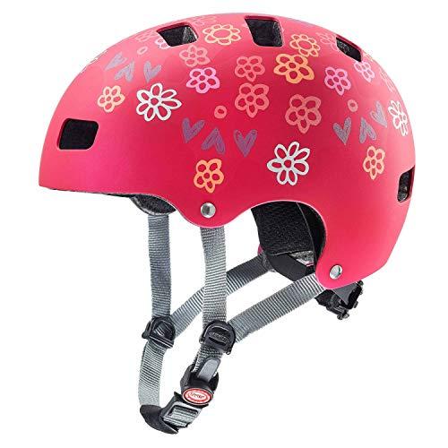 Uvex Kid 3 CC Kinder Dirtbike Skate Fahrrad Helm rot 2019: Größe: 55-58cm