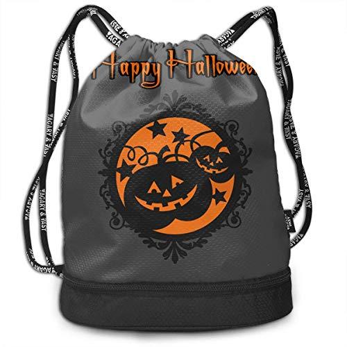 n Multifunctiona Drawstring Sport Backpack Foldable Sackpack ()