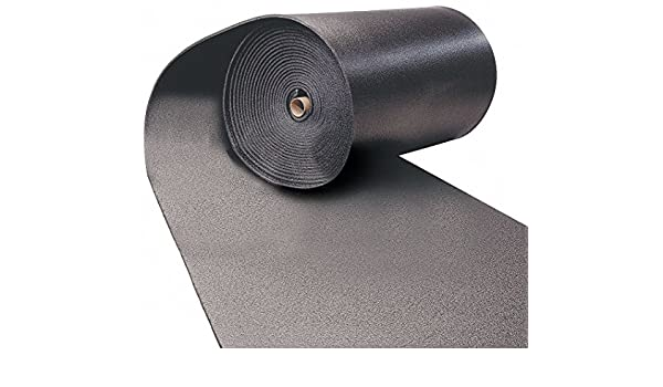 """Black Thermacel Polyolefin Insulation Sheet 36/"""" x 48/"""" 1/"""" Thickness"""