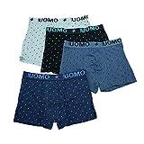 TERRA UOMO 6er Pack Herren Boxershorts Männer Unterhose Basic Boxer (T730, XXL)
