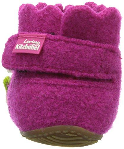 Living Kitzbuhel - Pantofole, Bambina Rosa (Pink (368 fuchsia))
