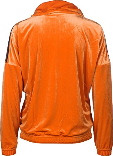 adidas BH Velvet Oversized W veste de survêtement Orange