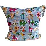 Koly La bolsa de orina bebé impermeable especial sola cremallera bolsa de almacenamiento, 11 colores,D