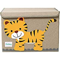 YoungShoots TruReey Large Storage Chest For Kids, With Lid, Foldable Storage Container, Collapsible Sturdy Toy Storage Bins
