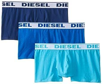 Diesel Shawn3Pk - Boxer pack 3 pour homme, bleu, taille S