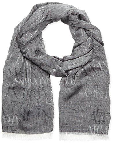Armani Jeans sciarpa uomo c6424F5 Black Taglia unica