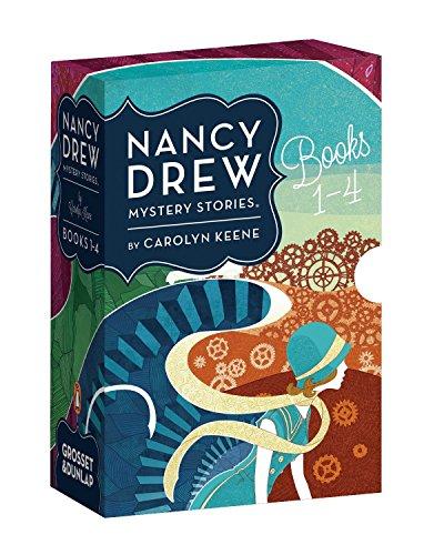 Nancy Drew Mystery Stories Books 1-4 -
