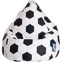 Puf fútbol L, ca. 120L (para niños)