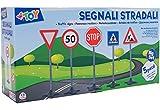W'TOY Cartelli Stradali, 5 Pezzi, 7.5x7.5x1 cm, 38307