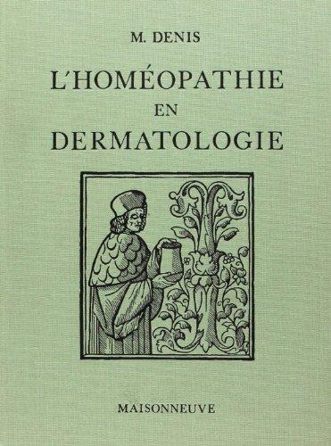 L'homéopathie en dermatologie