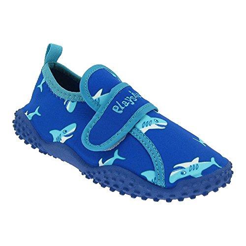 GALLUX - Kinder Aqua Schuhe Badeschuhe Jungen UV Schutz Blau