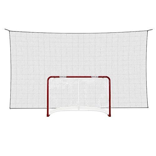 Better Hockey Extreme Backstop Net - Größe 5 x 2,5 m - Eishockey Fangnetz