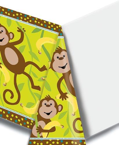 Creative Converting Monkeyin 'um Kunststoff Bankett Tisch Cover