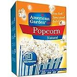 American Garden Microwave Popcorn, Natural, 273g