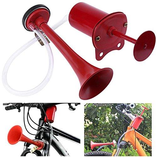 Welinks, Luftdruck-Fahrradhupe, super laute Alarmtröte, Retro-Fahrradhupe für die Lenkstange